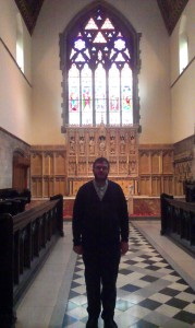 Fr Alexander at Christ Church Anglican Cathedral, Montreal