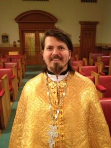 The Rev'd Doctor Oleh Kindiy (photo Fr A Chirovsky)
