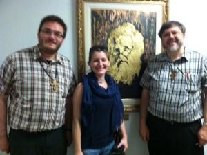 Fr Alexander, Iryna, and Fr Andriy