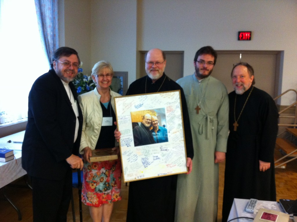 Study Days provided another opportunity to say good-bye to Fr Stephen and Presvytera Maria!