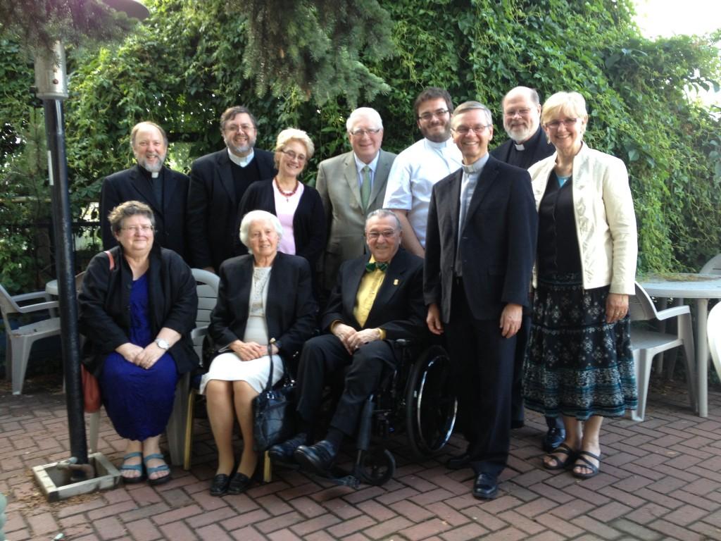 MASI Professors Celebrating the 70th Wedding Anniversary of Peter and Doris Kule
