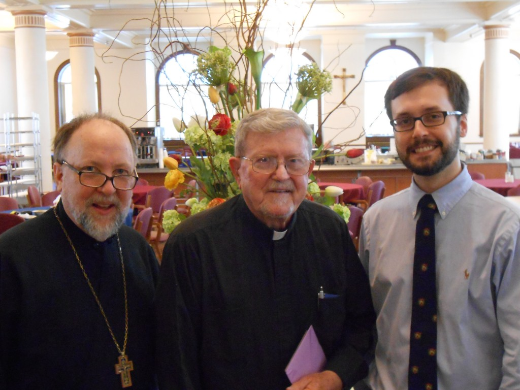 MASI Professor and Alumnus at Fr. Robert Taft's 50th Anniversary of Ordination