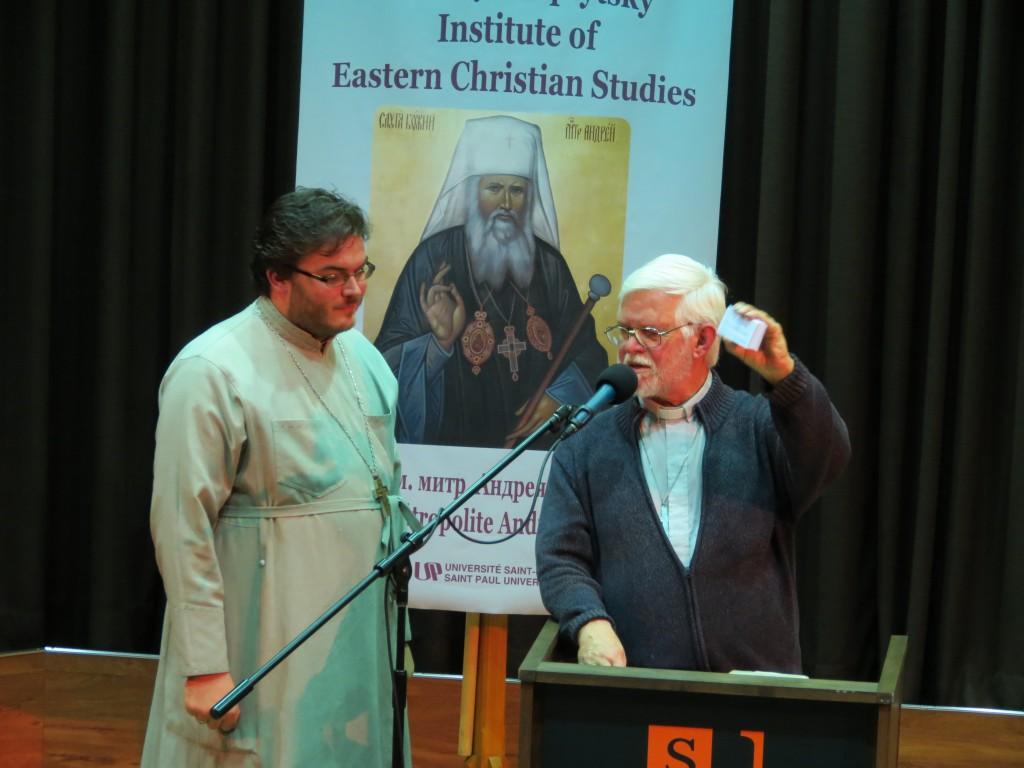 Fr Alexander and Fr Bob