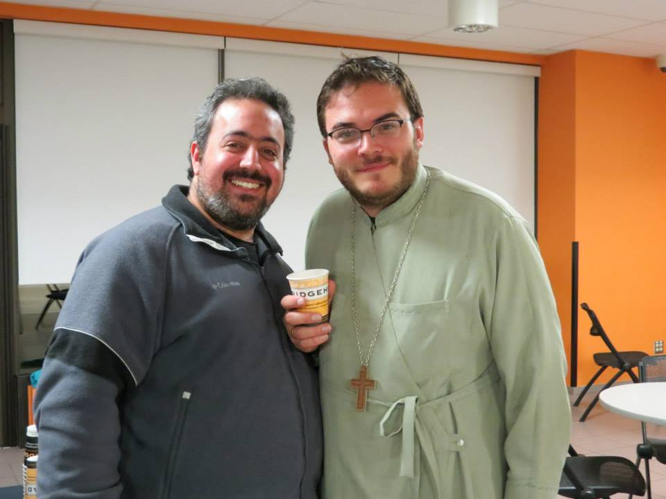 MASI Alumnus Subdeacon George and Fr Alexander