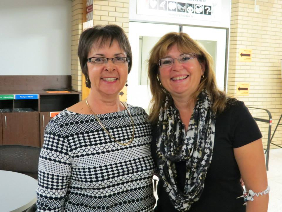 MASI's all-star support staff: Julie and Lorraine