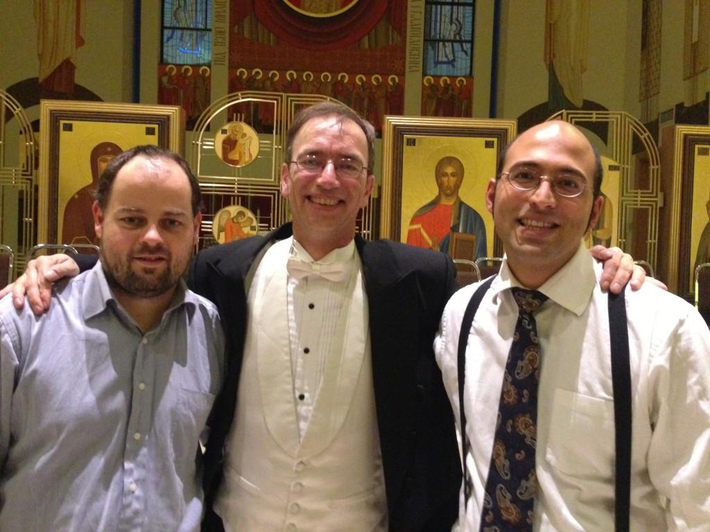 Harold, Maestro Uwe Lieflander, and Dr Butcher