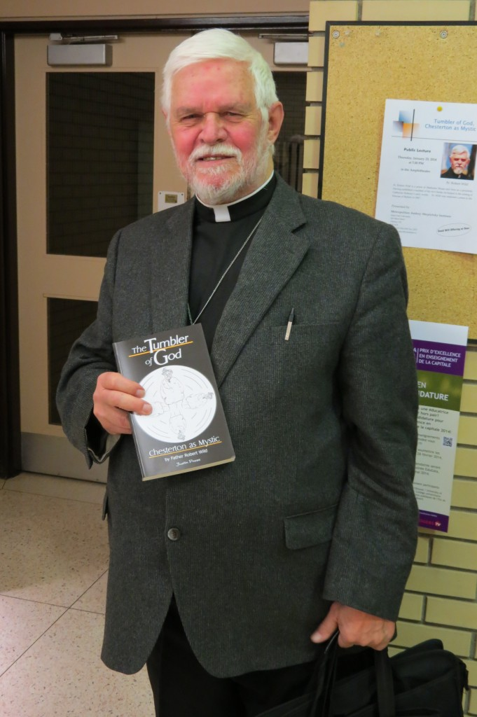 Fr Bob with his book